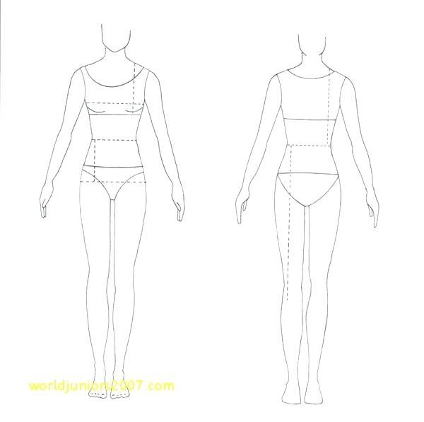 Fashion Design Body Sketches - LibaifoundationOrg Image Fashion