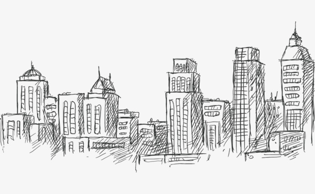City Sketch at PaintingValley Explore collection of City Sketch