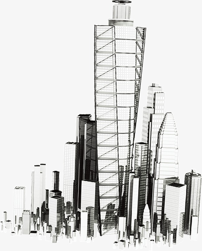 City Building Sketch at PaintingValley Explore collection of
