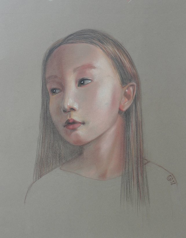 Little Girl Face Sketch at PaintingValley Explore collection