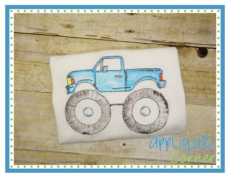 Monster Truck Sketch at PaintingValley Explore collection of