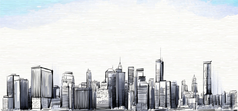 Sketch Of City at PaintingValley Explore collection of Sketch