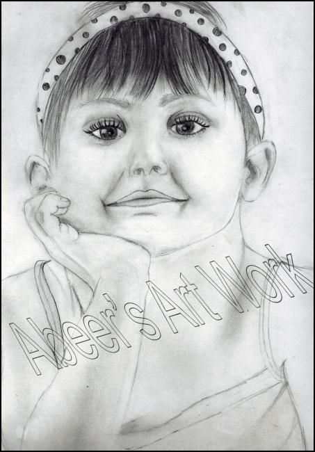 Smiling Girl Sketch at PaintingValley Explore collection of