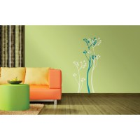 Summer Bloom - Asian Paints Wall Fashion Stencil - Buy Online