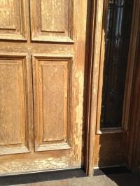 The Cost of Refinishing a Wood Front Door or Garage Door ...