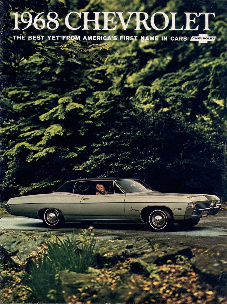 GM 1968 Chevrolet Sales Brochure