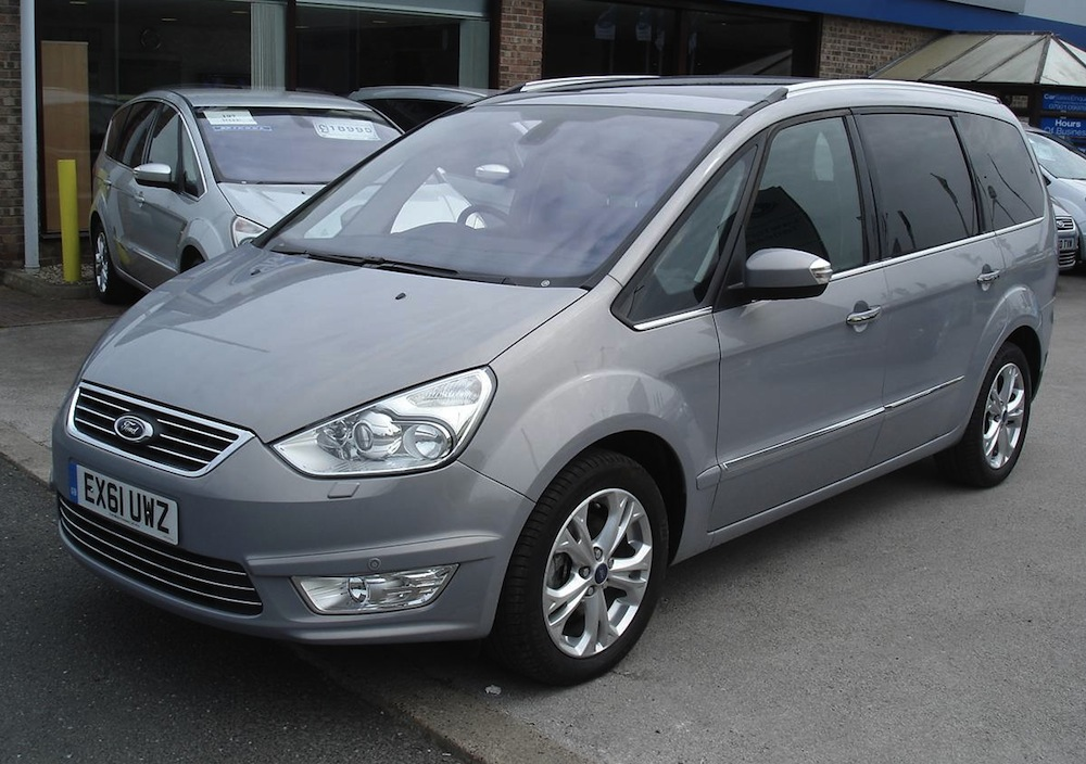 Example of micastone paint on a 2012 ford galaxy