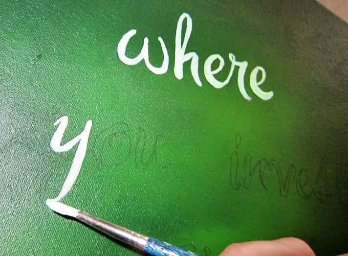 Diy How To Paint Personalized Quotes Onto Canvas