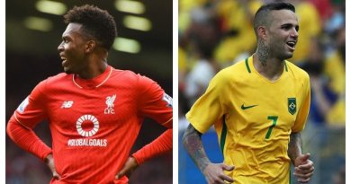 Sturridge Expected to Shine Amid Arsenal Rumours, Gremio Reject Reds Bid for Luan