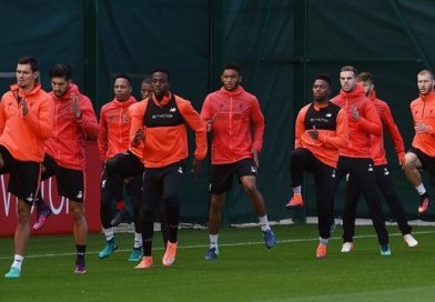 Georginio Wijnaldum and Joe Gomez Rejoin Liverpool Training