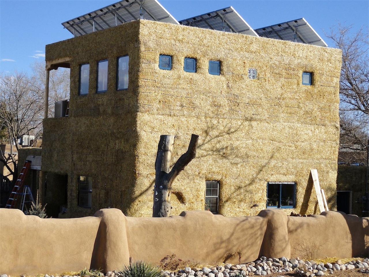 Plaster Building Adobe Plaster Or Conventional Stucco Straw Bale Construction Blog