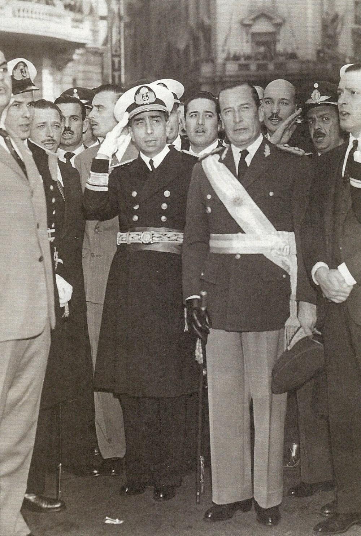 Isaac Rojas y Pedro Aramburu, fusiladores