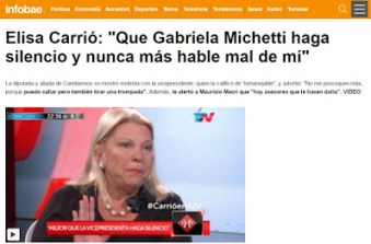 carrio-michetti-amenaza