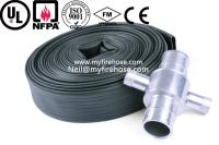 canvas fire hydrant hose material is PVC,used fire hose in ...