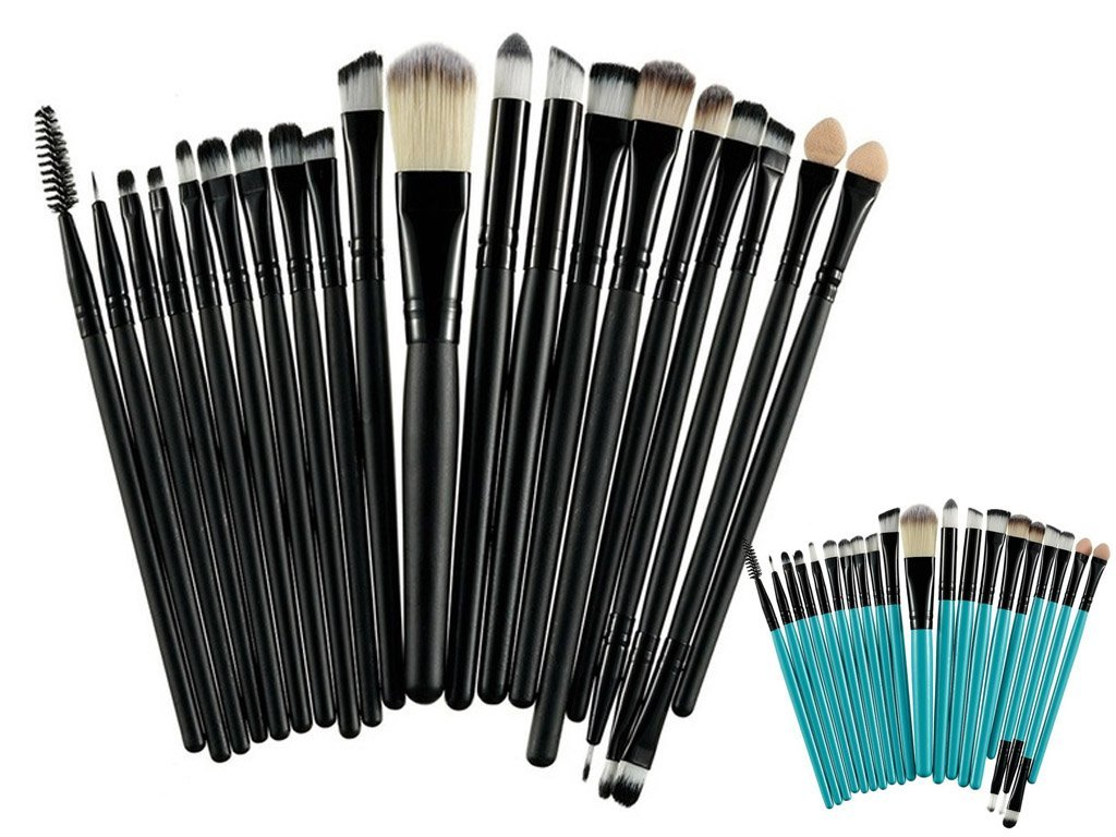 Pinsel Set 20 Teiliges Pinsel Set Für Make Up Gratis Versand Paketmann De