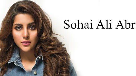 Sohai Ali Abro Photoshoot