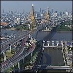 Bhumibol Bridge 1 and 2