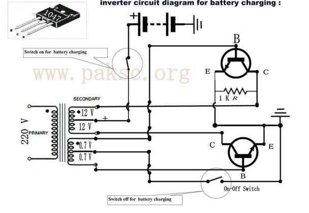 power inverter circuit diagram view diagram