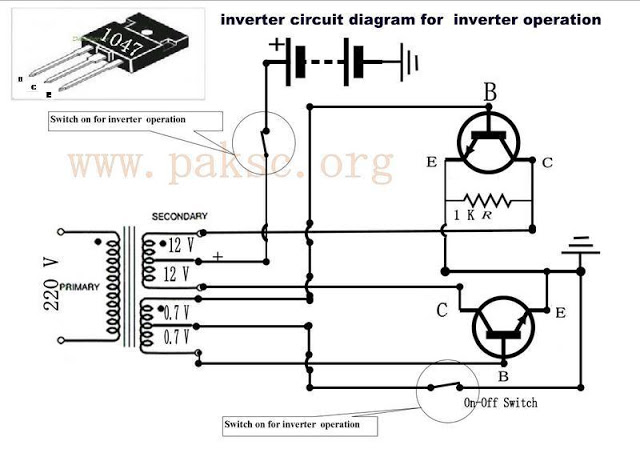 how to build a 12 vdc to 220 vac power inverter ups do science