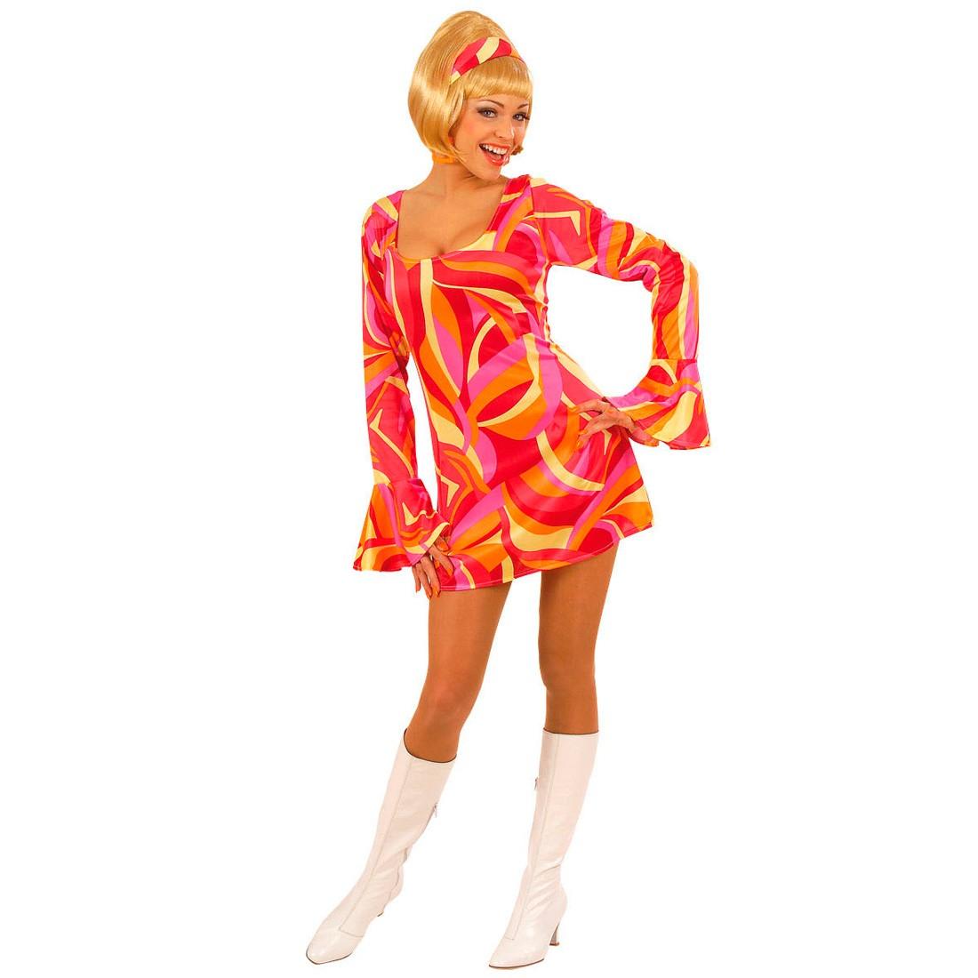 90er Party Outfit Herren 60er 70er Jahre Outfit Damen Hippie