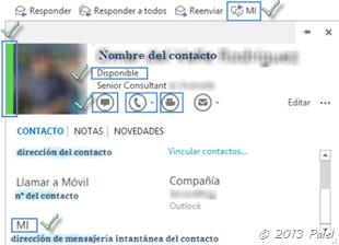 Con integración con Skype