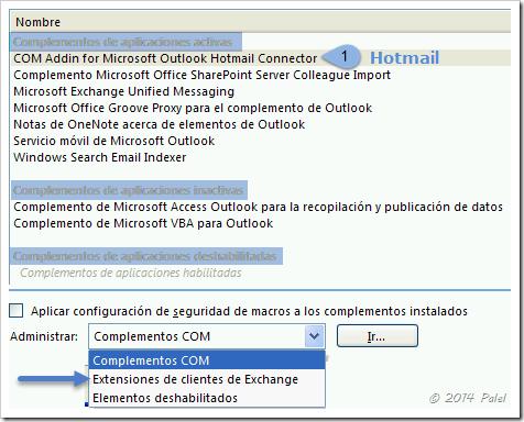 Complementos Outlook 2007/2003 - Palel.es