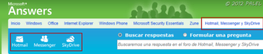 Ir a lo foros sobre Hotmail, Messenger y SkyDrive