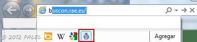 Buscadores en Internet Explorer