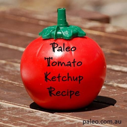 Paleo tomato ketchup sauce red recipe primal diet