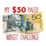 My $50 paleo budget challenge