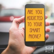 Are you addicted to your smart phone iphone samsung paleo diet