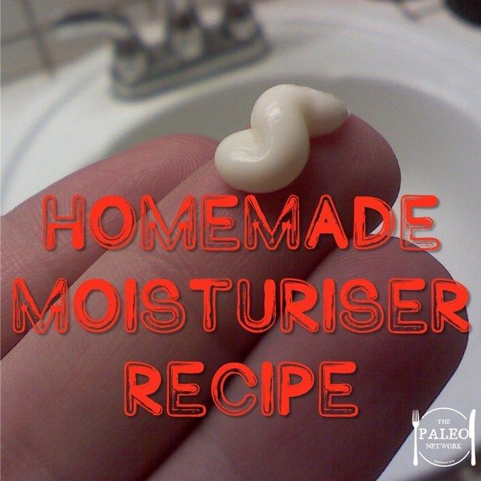 Homemade Moisturiser Recipe skincare paleo-min