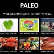 Paleo meme funny what people think when I tell them I eat paleo diet-min