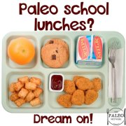 Paleo school lunches dinners UK healthy government free-min