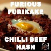 Furious Furikake Chilli Beef Hash paleo recipe-min