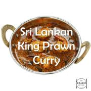 Paleo Diet Primal Recipe Sri Lankan King Prawn Curry-min