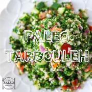 Paleo Tabbouleh bulgar wheat free recipe dinner lunch-min