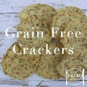 Recipe Grain-Free Crackers Potato Rosemary Dehydrator Paleo Network