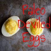 Recipe Paleo Deviled Eggs-min