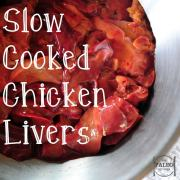 Slow Cooked Chicken Livers with Cayenne and Paprika paleo diet recipe offal organ meat nutrition primal-min