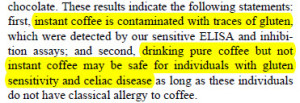 coffee conclusions