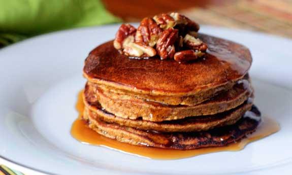 Paleo Simply Pumpkin Pancakes