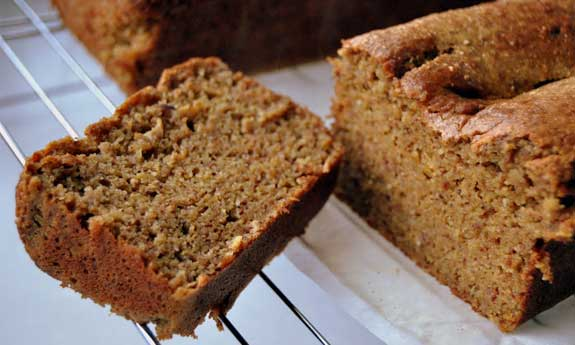 Paleo Spiced Pumpkin Bread