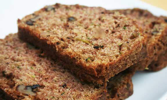 Paleo Brown Sugar-Zucchini Bread
