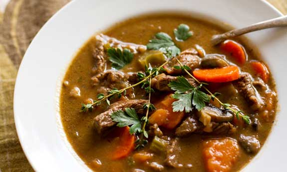 Paleo Curried Beef with Winter Vegetables