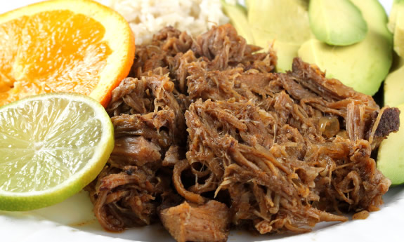 Paleo Cuban Shredded Pork