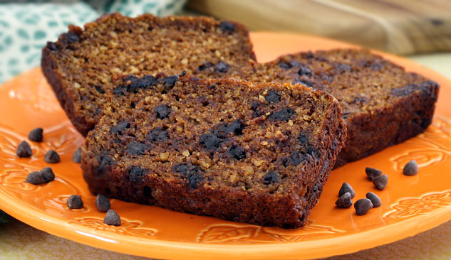 Paleo Pumpkin Bread with Optional Chocolate Chips Recipe   Paleo ...