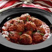 paleonewbie-com recipe slow cooked Italian meatballs in