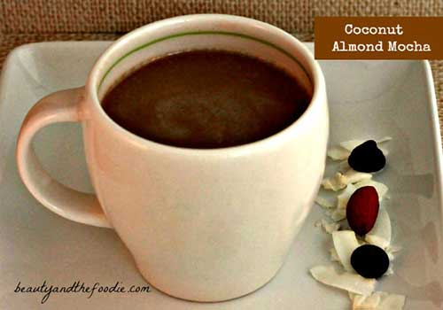 Beauty and the Foodie – COCONUT ALMOND MOCHA