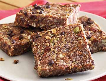 Apricot & Chocolate Chip Energy Bars Recipe
